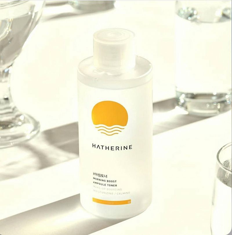 (PO) HATHERINE Morning Boost Ampoule Toner SET